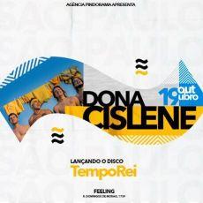 Dona Cislene Show de lançamento do TEMPOREI.