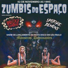 """Zumbis do Espaço - Show de lançamento do cd """" Monstros Dominantes"""" - The House"""