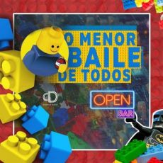 O Menor Baile de Todos - OPEN BAR