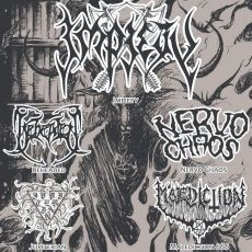 Impiety , Beheaded, Nervo Chaos , Jupterian e Malediction 666- The House