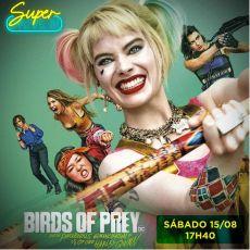 17h40 - Aves de Rapina - Super Drive-In 15/08