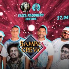Festa Pagode90 convida - Sampa Crew