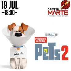 Domingo (19/07) - 18:00   Pets 2 (DUB)