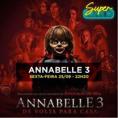 22h20 - Annabelle 3 - LEG - Super Drive-In 25/09