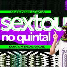 Sextou no Quintal - Pocket show dos NOVOS PRAIANOS!