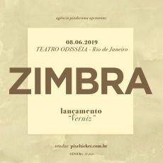 Zimbra - lançamento do cd Verniz no Rio de Janeiro.