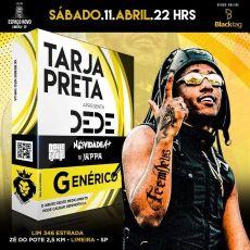 Tarja Preta - MC DEDE