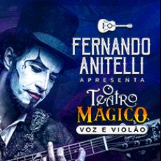Fernando Anitelli Apresenta: O Teatro Mágico Voz e Violão - Bragança Paulista