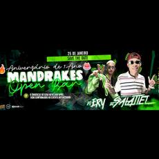 Mandrakes 1 Ano - Open Bar | Dj Ery + Dj Salatiel