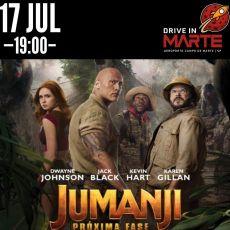 Sexta (17/07) - 19:00   Jumanji 2 (DUB)
