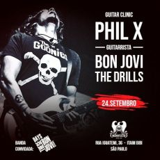 Phil X - Guitar Clinic (GUITARRISTA BON JOVI & THE DRILLS)
