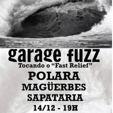 Garage Fuzz - tocando o `` Fast Relief `` The House