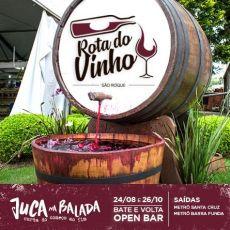 Rota do Vinho - Bate e Volta Open Bar