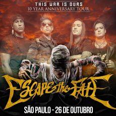 Escape the Fate em São Paulo/SP