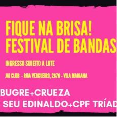 Fique na Brisa! - Festival de bandas