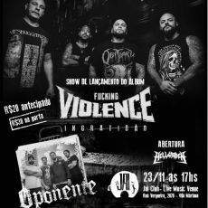 Fuck Violence - Show de lançamento
