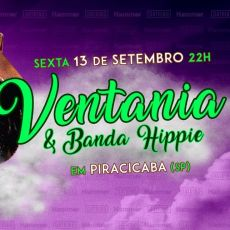 Ventania & Banda Hippie em Piracicaba/SP