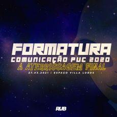 BAILE DE FORMATURA PUC COMUNICAÇÃO 2020.2