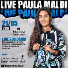 LIVE SOLIDÁRIA - DJ PAULA MALDI
