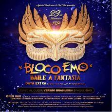 Bloco Emo - Festa a Fantasia - Sábado de Aleluia- Open Bar