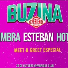 Buzina Experience 2019 - Meet and Greet (Zimbra , Esteban e Hotelo)