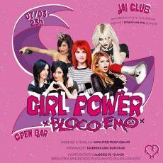 Bloco emo - Girl Power - Open Bar