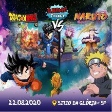 Anime Trance - Edição DragonBall vs Naruto