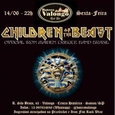 Children of The Beast em Santos/SP