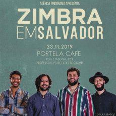"""Zimbra em Salvador - show da tour """"Verniz"""""""